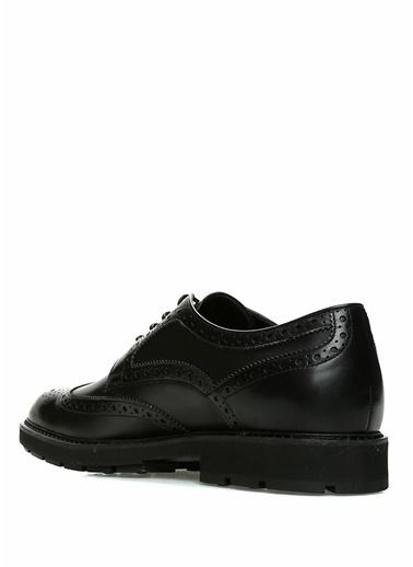 Tod's Deri Oxford Ayakkabı Siyah
